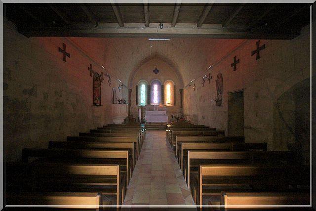 Diaporama église de Marcenais