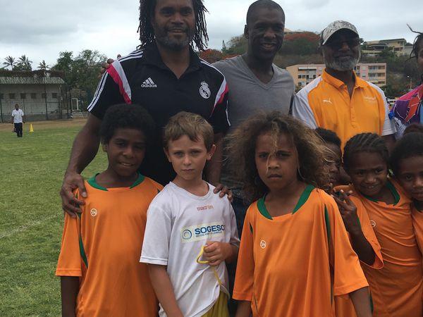 Samedi matin foot à Nouméa