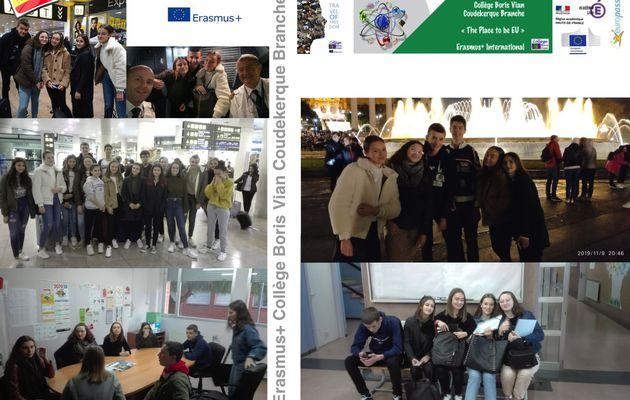 5 collégiens un mois à Barcelone en immersion scolaire