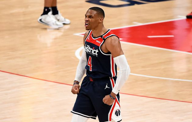 Russell Westbrook mène Washington avec un record de franchise