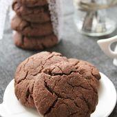 Cookies au chocolat { sans gluten, sans lait, sans oeufs } - Allergique Gourmand