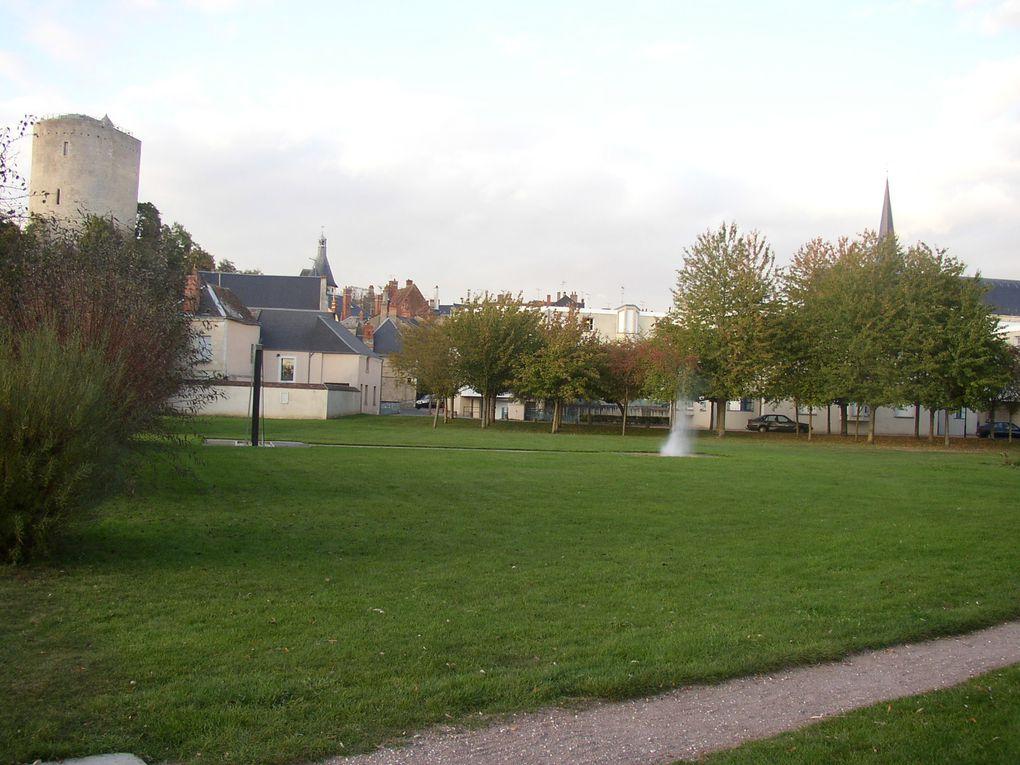 Indre - Issoudun - St Georges sur Arnon - 23ème rassemblement des St Georges de France - George Sand
