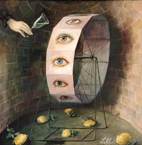 The wheel of tears - Wolfgang Letti