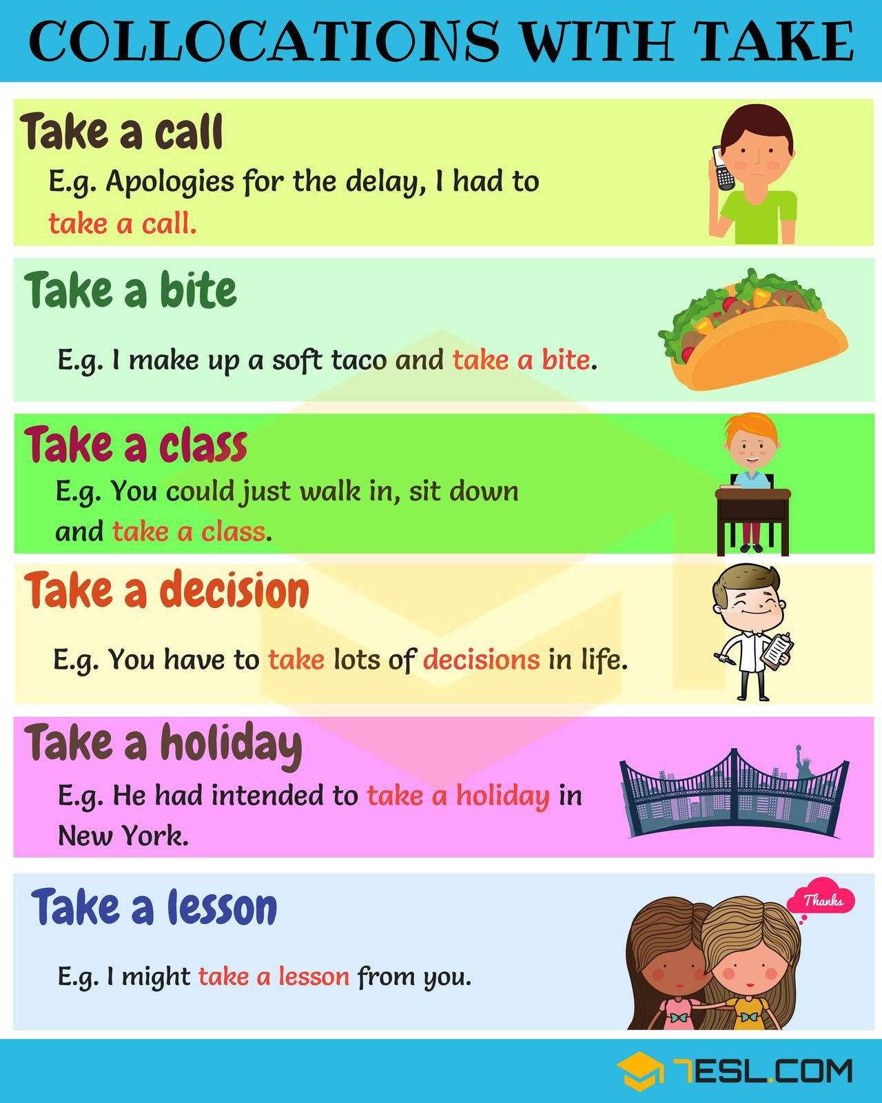 MAKE / DO and other collocations