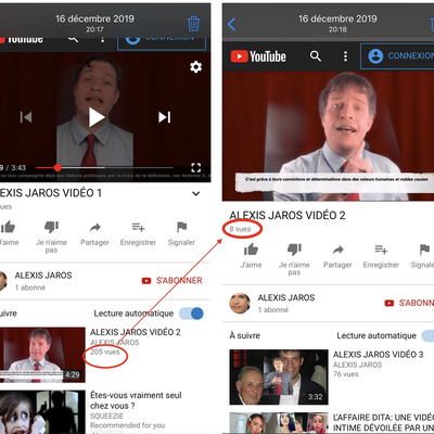 YOUTUBE VRAIMENT FIABLE ???