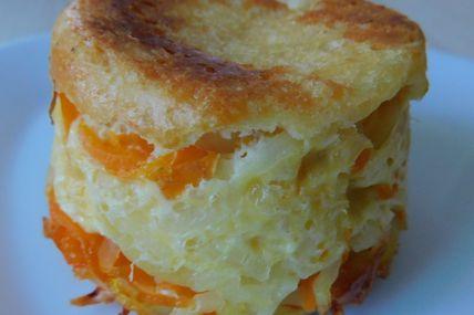 """""""Flan"""" à la carotte et à la pomme de terre"""