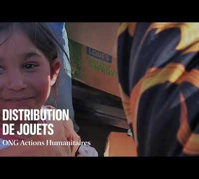 Distribution de Jouets en Roumanie