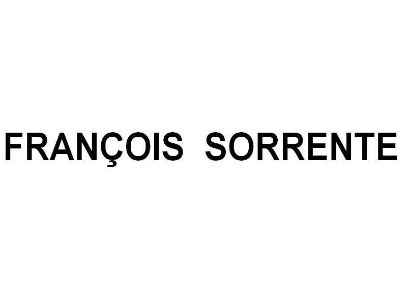 FRANÇOIS  SORRENTE