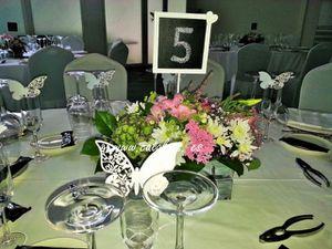 catalpas - centros de mesa