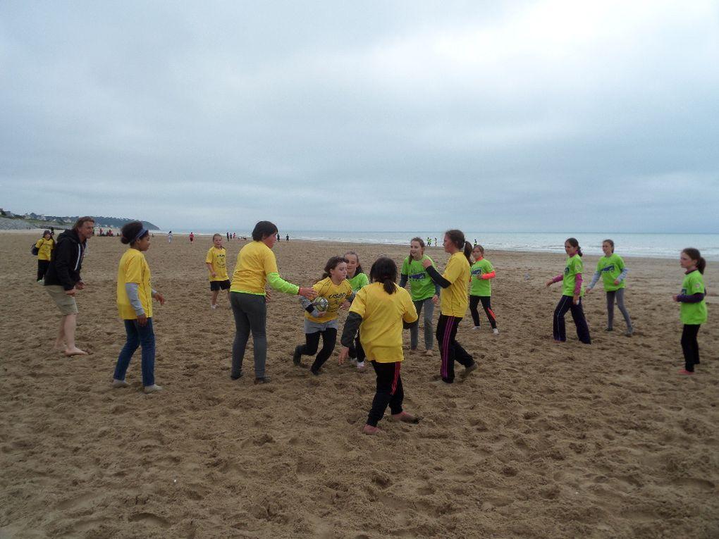 Beach rugby pour 37 Usépiens