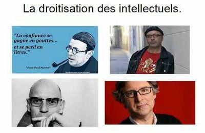 LA DROITISATION DES INTELLECTUELS.