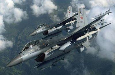 L'armée de l'air turque lance un puissant assaut dans le nord de l'Irak (AMN)