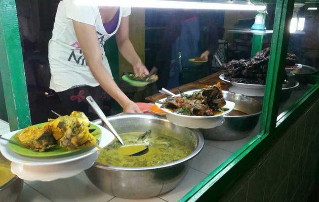 Padang - La gastronomie Indonésienne