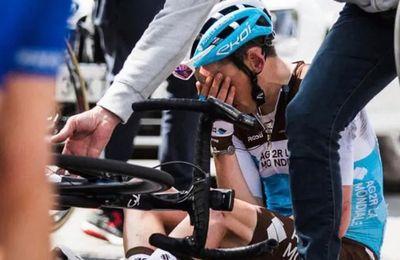 """L'équipe cycliste de Savoie AG2R approuve le """"protocole commotion"""" de l'UCI..."""