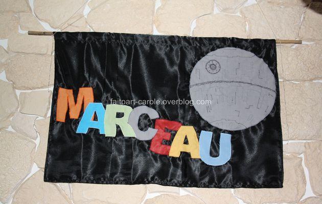 panneau de chambre Star Wars