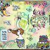 Art Journal - 1ère Page - Je me suis lancée, enfin !