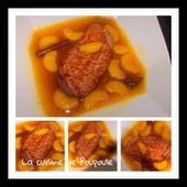 Magret de canard aux clémentines - La cuisine de poupoule