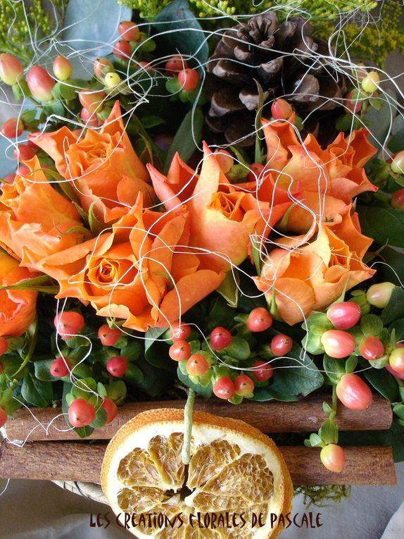 Des paniers et des fleurs...