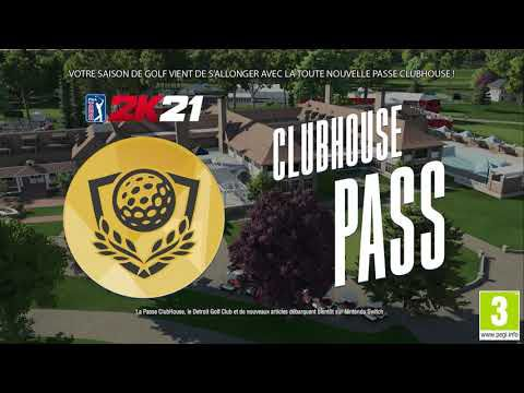 [ACTUALITE] PGA TOUR 2K21 - Annonce Pass Club House et Detroit Golf Club