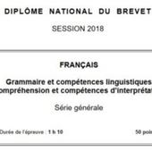 Brevet des collèges 2018 : De quoi l'épreuve de français est-elle le nom ?