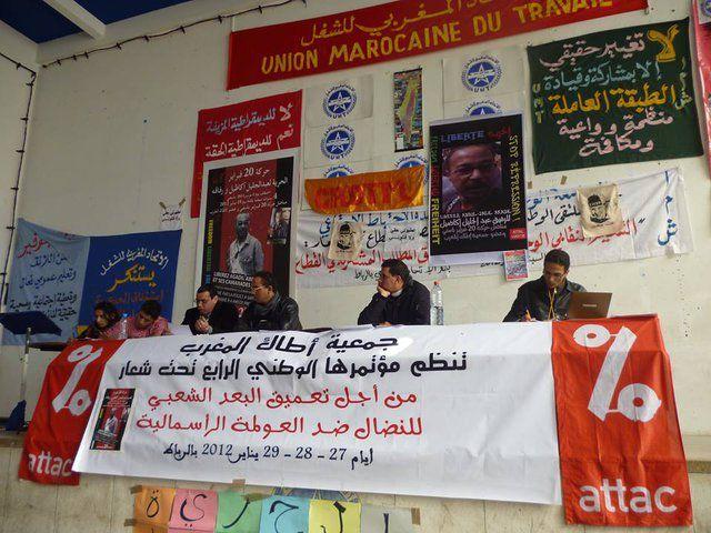ATTAC & CADTM Maroc soutiennent le peuple grec