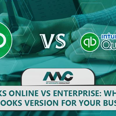 QuickBooks Online vs QuickBooks Enterprise: Which is Best Version for your Business?