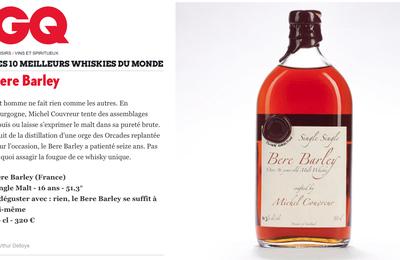 Whisky Michel Couvreur parmis les 10 meilleurs whiskies MONDE !