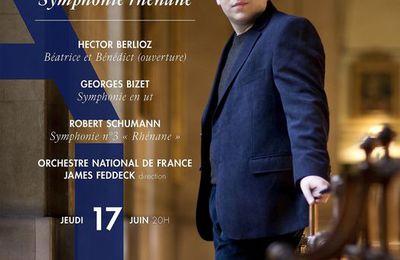 A Paris coule le Rhin: James Feddeck aérien à la tête du National dans Bizet, Berlioz et Schumann
