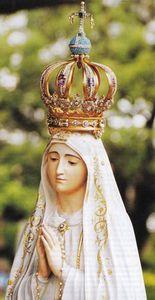 La Vierge de Fatima.