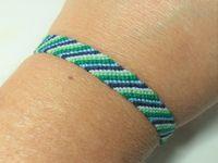 Tutoriel et patron: bracelet brésilien simple