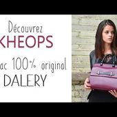 Sac à main personnalisable KHEOPS - DALERY -