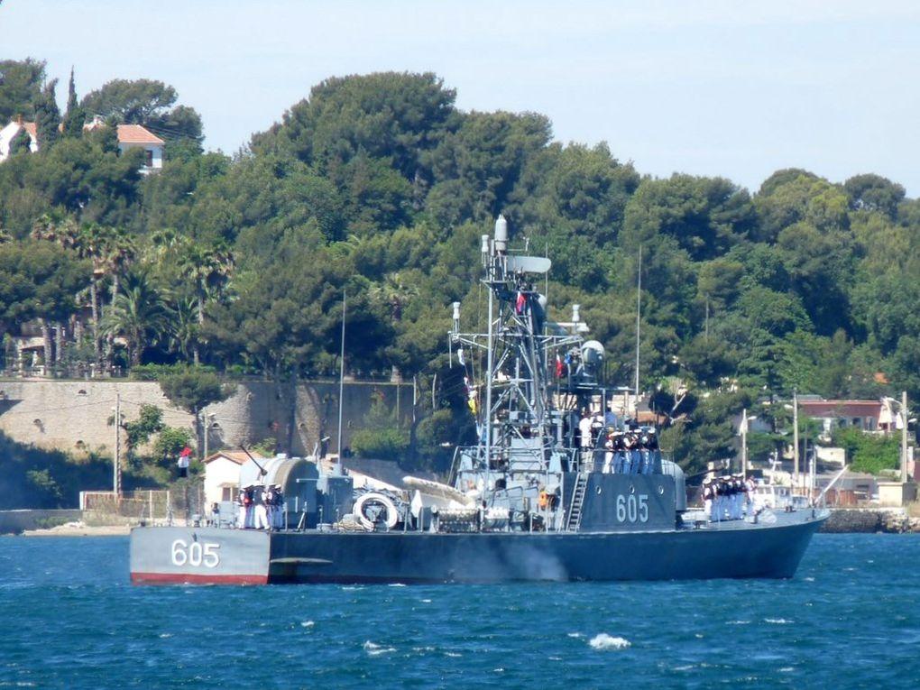 25 AVRIL , 604 , patrouilleur de la marine égyptienne