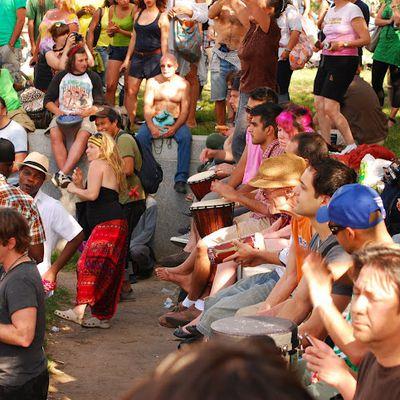 Canada : Montréal : le dimanche des tam-tams