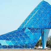 Taiwanese town builds a church shaped like a high heel