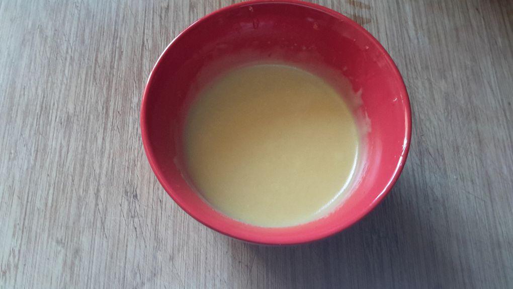 Salade chinoise et sa vinaigrette sucrée