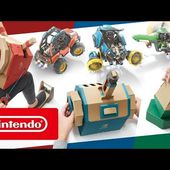 Nintendo Labo Toy-Con 03 : kit véhicules