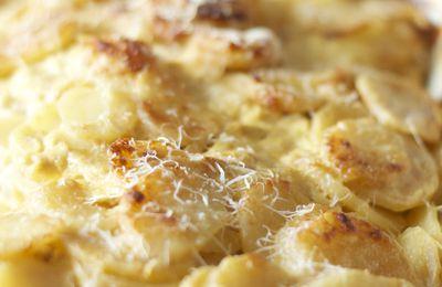 Gratin de pommes de terre à la moutarde de Dijon