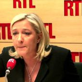 Passe d'armes entre Marine Le Pen et Jean-Michel Aphatie
