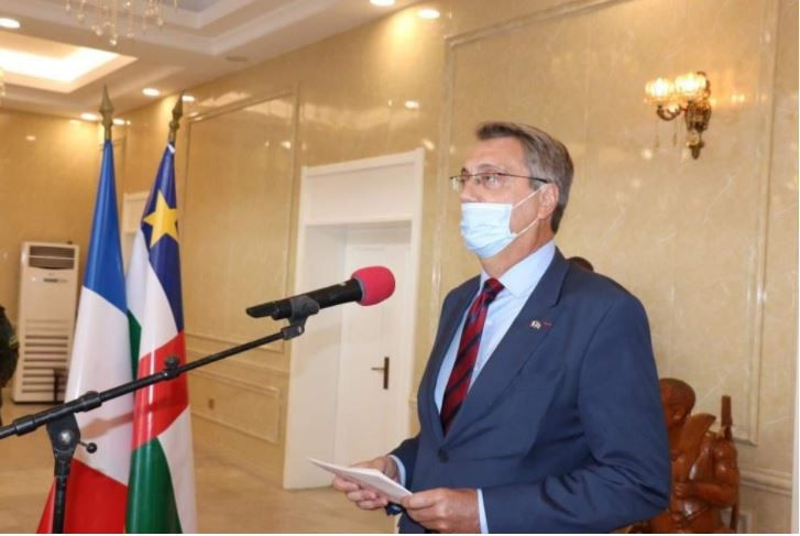 RCA : Le nouvel ambassadeur de France présente ses lettres de créances
