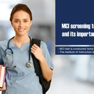 MCI Screening Test and its Importance