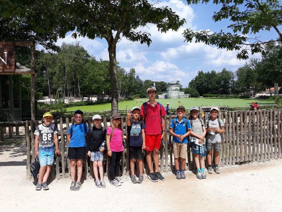 Les enfants sont au Puy du Fou