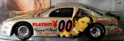 pontiac-grand-prix-nascar-1999-summer-altice-playmate-month-august-johnny-lightning-miss-playboy