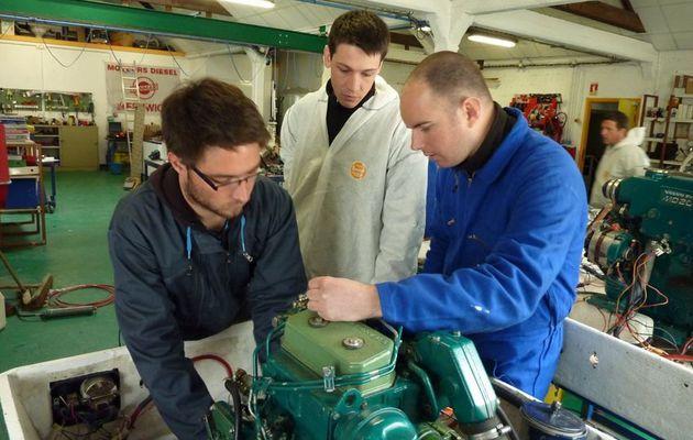 Rentrée Bac Pro : qui sont les futurs techniciens de maintenance nautique ?