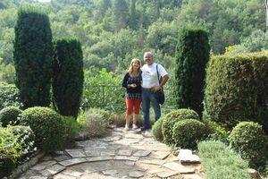 Jardin de la Louve à Bonnieux (84)