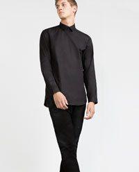 Buttonless shirt