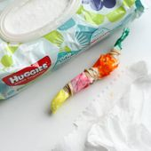 Easy Tie Dye Art with Baby Wipes - I Can Teach My Child!