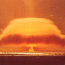 IL Y A 51 ANS LE 15 MAI 1970 À 10 H 00 : LE 32ÈME ESSAI NUCLÉAIRE ATMOSPHÉRIQUE FRANÇAIS, AVEC LA BOMBE ATOMIQUE « ANDROMÈDE», EXPLOSAIT SUR LE SECTEUR DENISE À MURUROA.