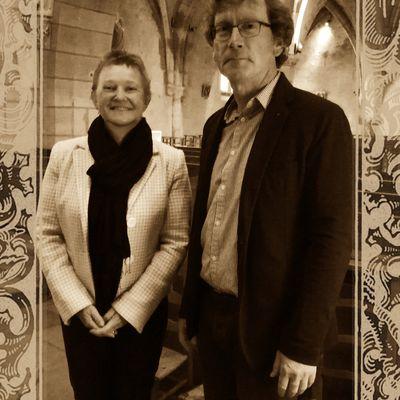 jean marie fritz, professeur de littérature française à l'université de bourgogne et organiste à Fontaine-Lès-Dijon