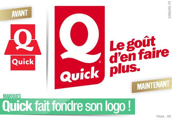 Quick fait fondre son logo ! #Quick