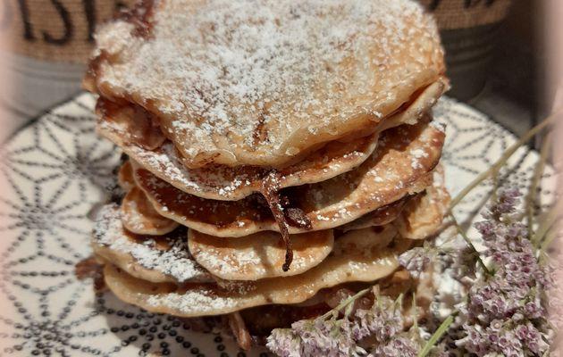 🥞 pancakes straciatella fourrés au chocolat 🥞